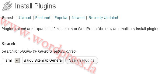 WordPress百度地图插件
