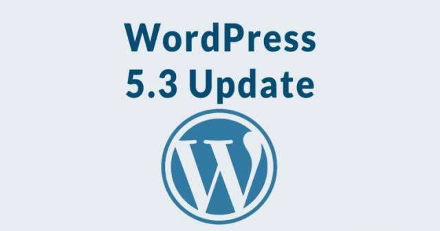 WordPress 5.3 版本