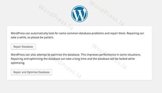 WordPress中建立数据库连接的错误