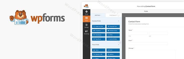 《WordPress表单生成器插件WPForms[下载]》