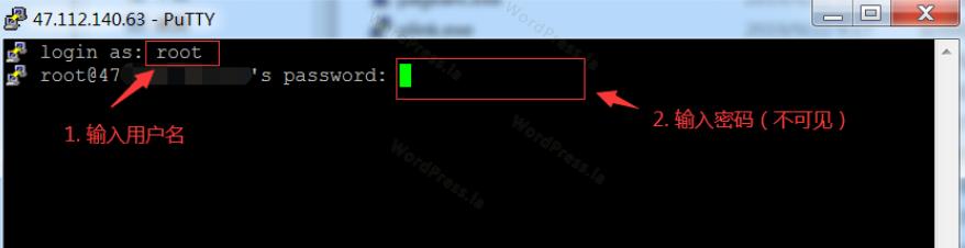 root账户密码登录